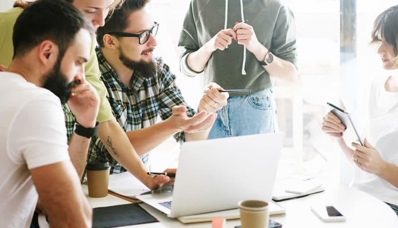 Como você quer que seja a colaboração dentro da sua empresa?
