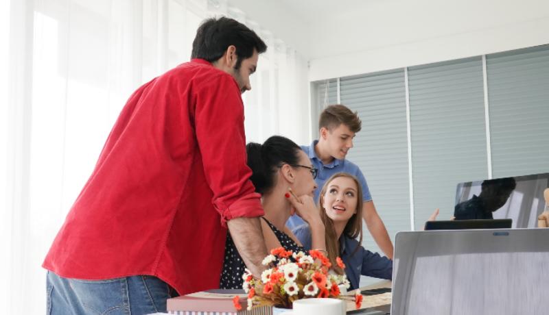 Colaboração no ambiente de trabalho