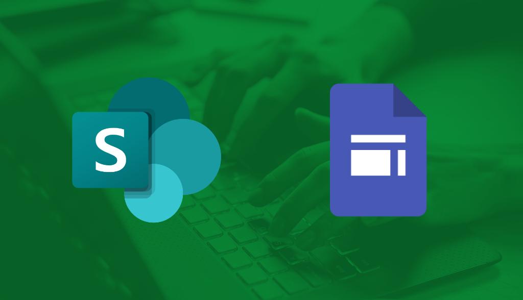 SharePoint ou Google Sites: qual é melhor?